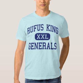 Rufus King - Generals - High - Milwaukee Wisconsin T Shirts