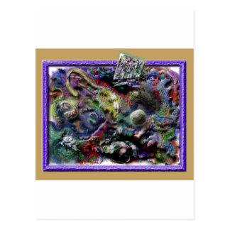 rufus rafft juggler postcard