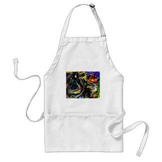 rufus rafft original art sleepyy adult apron