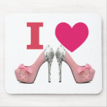 Rug for mouse I love High heels! Mouse Pad