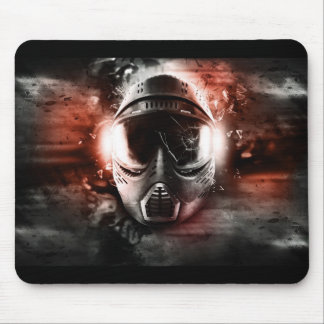 Rug for mouse. Mask of Paintball. M-2 Mouse Pad
