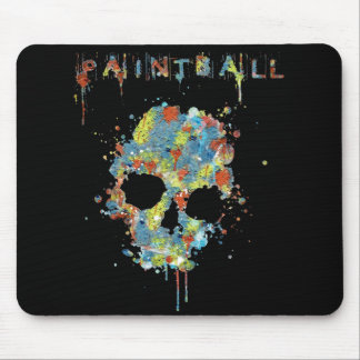 Rug for Mouse Paintball Calavera M-1 Mouse Pad