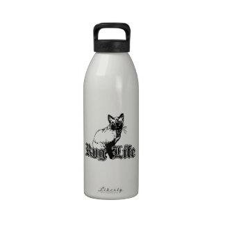 Rug Life - Gangsta Cat Reusable Water Bottles