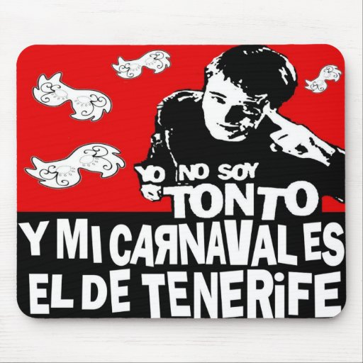 Rug mouse Carnival of Tenerife Mousepads