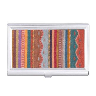 Rug patterns business card case