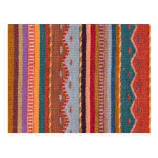 Rug patterns postcard