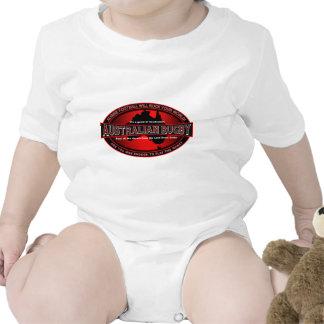 Rugbi australiano trajes de bebé