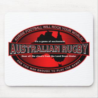 Rugbi australiano tapetes de ratón