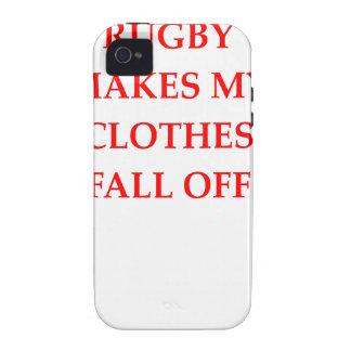 rugbi Case-Mate iPhone 4 funda
