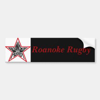 Rugbi de Roanoke Etiqueta De Parachoque
