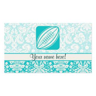 Rugbi del trullo tarjetas de visita