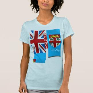Rugbi Fanwear de las señoras Camiseta