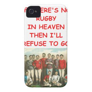RUGBI iPhone 4 Case-Mate CARCASAS