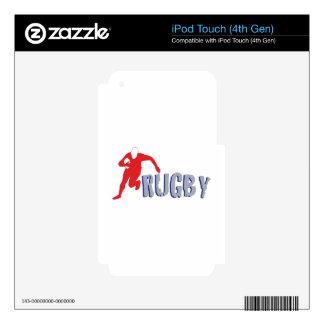 Rugbi iPod Touch 4G Calcomanía