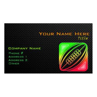 Rugbi liso tarjeta de visita