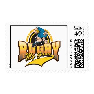 Rugbi mi juego sello