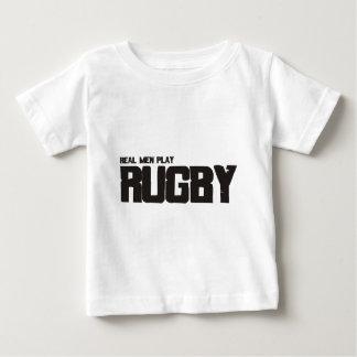 Rugbi real del juego de los hombres camisas