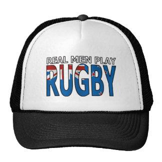 Rugbi real Nueva Zelanda del juego de los hombres Gorros