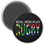 Rugbi real Suráfrica del juego de los hombres Iman De Frigorífico