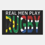 Rugbi real Suráfrica del juego de los hombres Rectangular Altavoz
