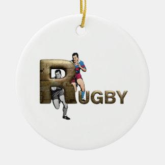 Rugbi SUPERIOR Adornos De Navidad