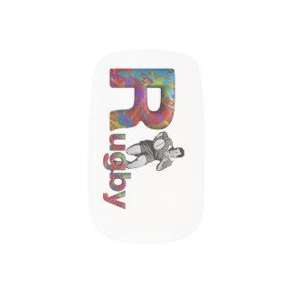 Rugbi SUPERIOR Pegatina Para Uñas