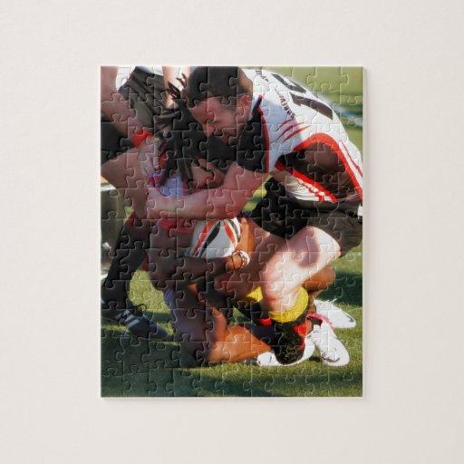 Rugbi Tackel Puzzle Con Fotos