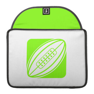 Rugbi verde chartreuse, de neón funda macbook pro