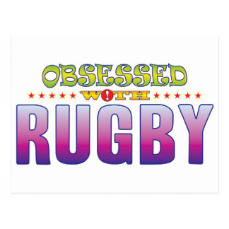 Rugby 2 Obsessed Postcard