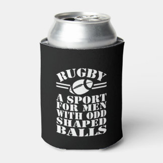 Rugby a sport for men with odd shaped balls can cooler