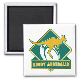 rugby australia kangaroo wallaby fridge magnets