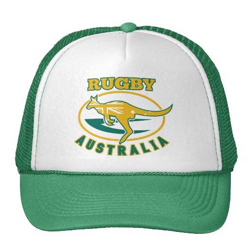 Rugby Australia kangaroo wallaby Trucker Hat