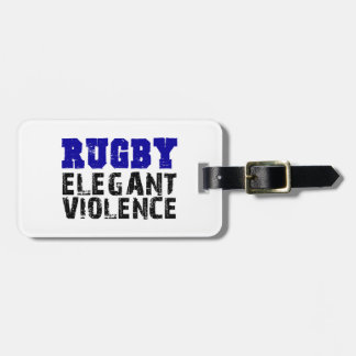 Rugby Bag Tag