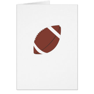 Rugby Ball Card
