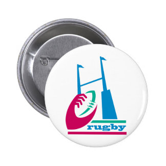 rugby ball goal post pins