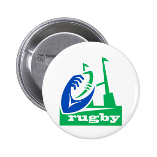 rugby ball goal post buttons