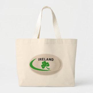 Rugby Ball Ireland Shamrock Bags