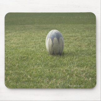 Rugby ball mouse pad