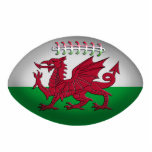 Rugby Ball Wales Flag Ornament