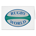 rugby ball world card