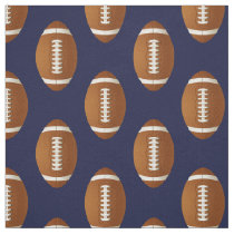rugby balls , football balls pattern fabric