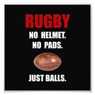 Rugby Balls Photo Print
