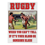 Rugby Blood Poster