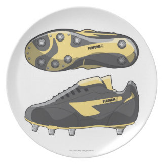 Rugby boots plate