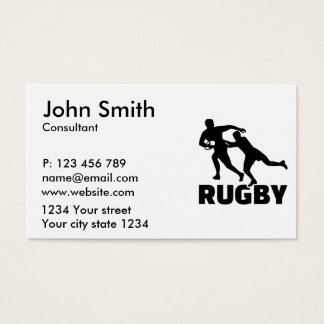 Rugby Business Card