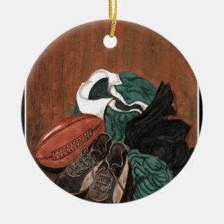 Rugby Ceramic Ornament