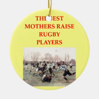 RUGBY CERAMIC ORNAMENT