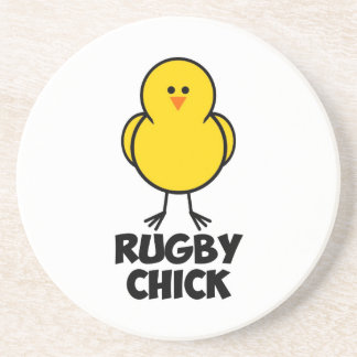 Rugby Chick Coasters