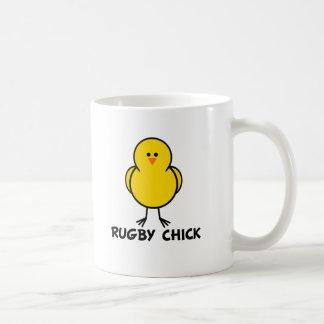Rugby Chick Coffee Mug