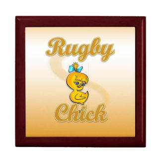 Rugby Chick Jewelry Box